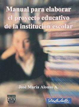 portada Manual Para Elaborar el Proyecto Educativo