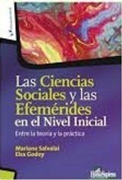portada Ciencias Sociales y las Efemerides en el Nivel Inicial Entre la Teoria y la Practica