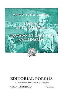 portada Tratado de la Republica; Tratado de la Leyes Catilinarias (11ª)
