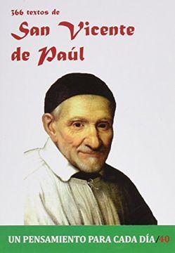 portada 366 Textos de san Vicente de Paul