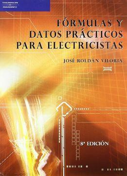 portada Fórmulas y Datos Prácticos Para Electricistas