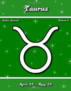 portada Taurus Zodiac Journal - Volume 5 (libro en inglés)