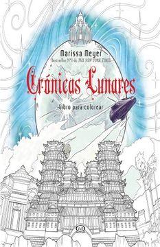 portada Cronicas Lunares Libro Para Colorear