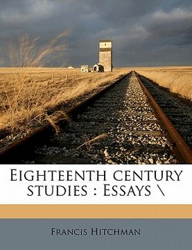 "portada eighteenth century studies: essays "";""nabu press"