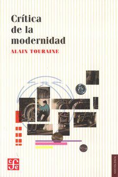 portada Critica de la Modernidad