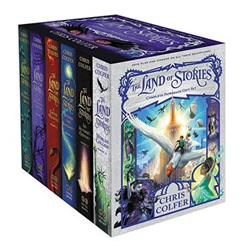 portada The Land of Stories Complete Paperback Gift set (libro en Inglés)