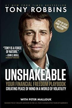 portada Unshakeable: Your Financial Freedom Playbook (libro en Ingles)