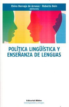 portada Política Lingüística y Enseñanza de len