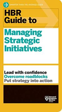 portada Hbr Guide to Managing Strategic Initiatives (libro en Inglés)