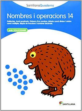 portada Santillana Quaderns Nombrei Operacion 14 (libro en Catalán)