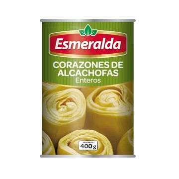 portada CORAZONES DE ALCACHOFA (400g) marca Esmeralda