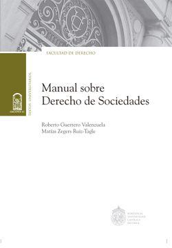 portada Manual Sobre Derecho de Sociedades