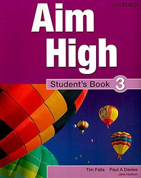 portada Aim High Level 3 Student s Book: A new Secondary Course Which Helps Students Become Successful, Independent Language (libro en inglés)