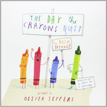 portada The Day the Crayons Quit