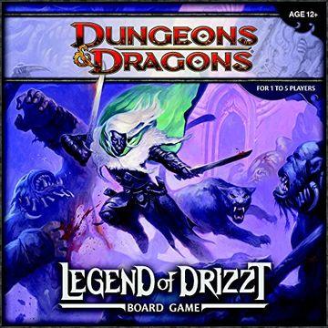 portada Wizards of the Coast - Juego de Mesa, «Dragones y Mazmorras: La Leyenda de Drizzt» (libro en Inglés)