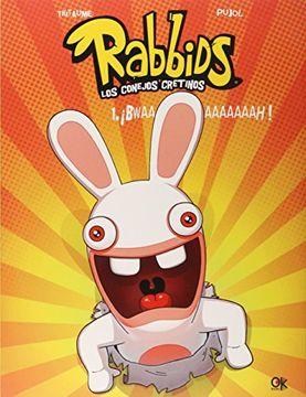 portada Rabbids Conejos Cretinos n⺠01