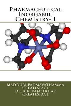 portada Pharmaceutical Inorganic Chemistry- I