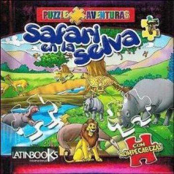portada Safari en la Selva