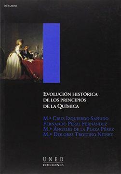 portada Evolución Histórica de los Principios de la Química (Aula Abierta)