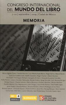 portada Congreso Internacional del Mundo del Libro