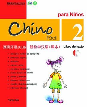 portada Chino facil para niños vol.2 - Libro de texto (Libro + CD)