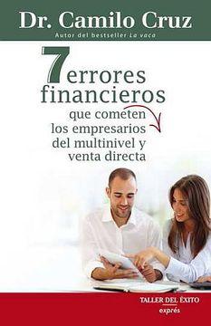 portada 7 Errores Financieros que Cometen los Empresarios del Multinivel y Venta Directa