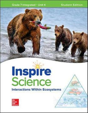 portada Inspire Science: Integrated g7 Write-In Student Edition Unit 4 (Integrated Science) (libro en Inglés)