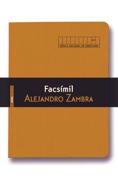 portada Facsímil (Narrativa Sexto Piso)