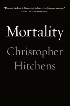 portada Mortality (libro en Inglés)
