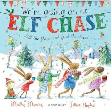 portada We're Going on an elf Chase: Board Book (libro en Inglés)