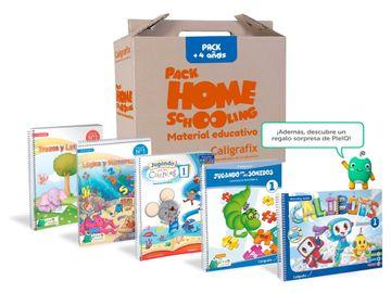 portada Pack Homeschooling Prekinder A partir de los 4 años