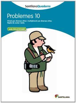 portada Santillana Quaderns Problemes 10 (libro en Catalán)