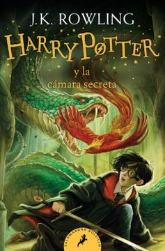 portada Harry Potter y la Cámara Secreta