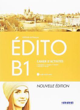 portada Edito b1 Ejer+Cd (libro en Francés)