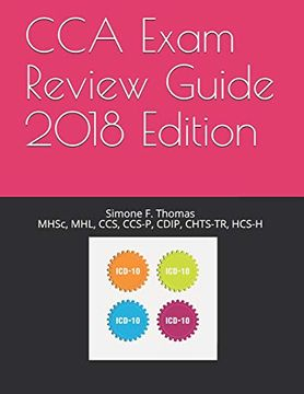 portada Cca Exam Review Guide 2018 Edition (libro en inglés)