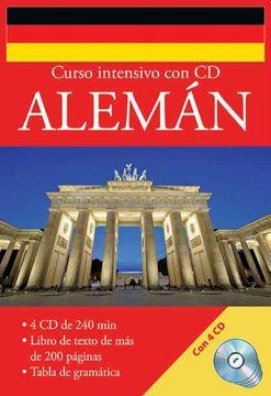 portada Curso Intesivo Alemán (Incluye 4 CDs)