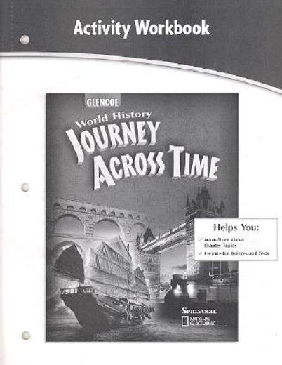 journey across time, activity wkbk, stud