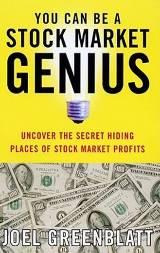 you can be a stock market genius,uncover the secret hiding places of stock market profits