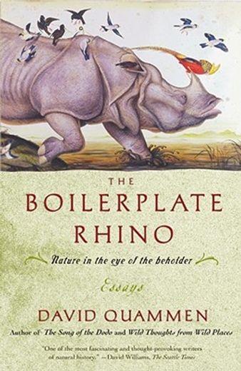 boilerplate rhino,nature in the eye of the beholder